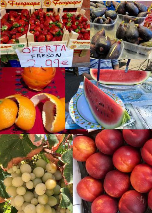 la fruta española es muy buena
