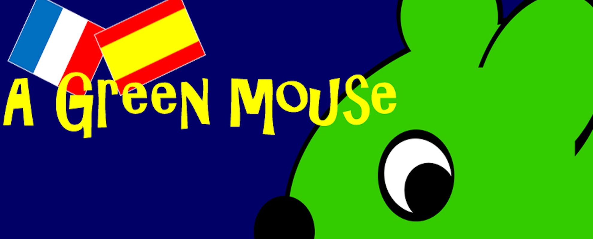 A Green Mouse Languages Website