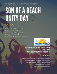 Son Of A Beach Unity Dat @ Sudgen Park @Pavilion #8 | Naples | Florida | United States