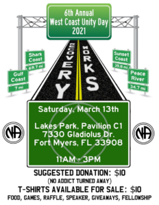 6th Annual West Coast Unity Day @ Lakes Park, Pavilion C1 | Fort Myers | Florida | United States
