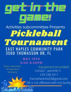 Pickleball Tournament @ East Naples community Park | Naples | Florida | United States