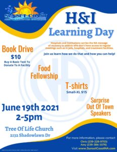H&I Learning Day @ Tree Of Life Church | Naples | Florida | United States