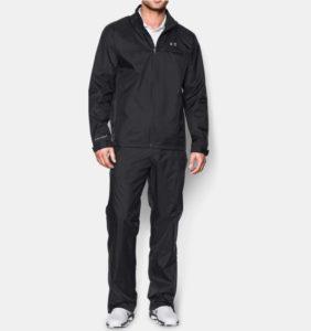 ua golf rain suit, under armour rain gear for golfers, best golf gifts