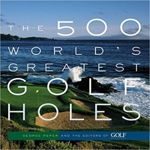 500 best golf holes picture book