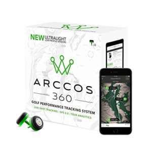 arccos golf performance tracking system, cool golf gadget