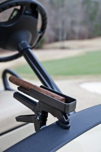 golf cart cigar holder