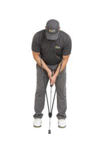 putting golf training aid, pendulum putting practice aid