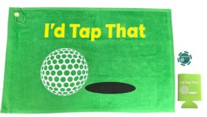 id tap that gift set, funny golfer gift
