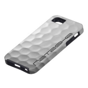 personalized golf ball phone case