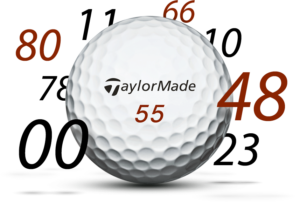 taylormade personalized golf balls, best personalized golf gift idea