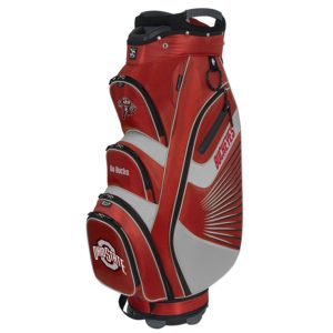 bucket II college team golf bag with cooler, golf bag with built in cooler