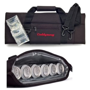 caddyswag 6 can golf bag cooler, hidden golf cooler