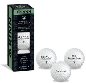 3pack male humor golf balls, golf gag gift