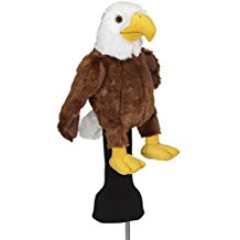 bald eagle golf club headcover, patriotic golf headcover, eagle headcover