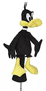 daffy duck golf head cover, looney tunes golf club headcover