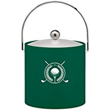 golf ice bucket, golf drinking gifts, gifts for golfers who drink