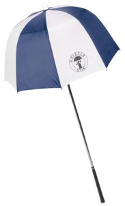 golf outing gift, golf goodie bag umbrella, golf outing player gifts