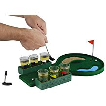 golf shot drinking game, alcohol gifts for golfers, golf drinking game