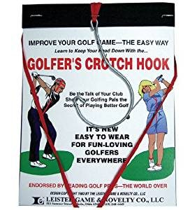 golfers crotch hook, golfer gag gift, funny gift for golfers