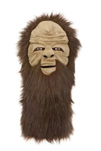 sasquatch bigfoot golf headcover, sasquatch golf head cover
