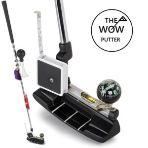 the wow putter, funny golf gift, golf gag gift