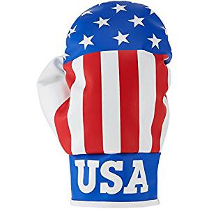 usa boxing glove golf headcover, unique golf head cover