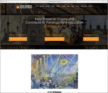 Irem Temple Restoration Project Website