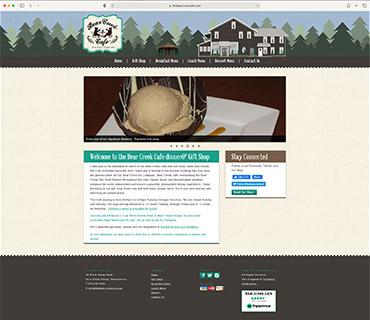 Bear Creek Cafe Website