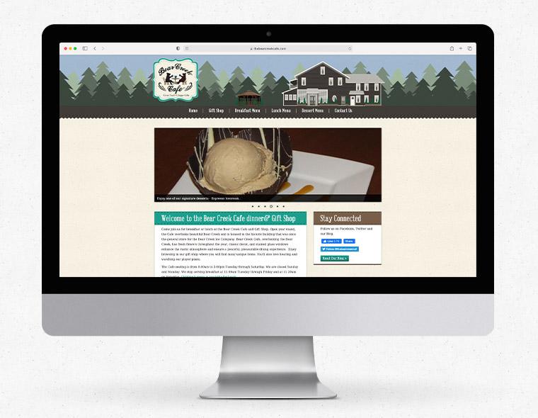 The Bear Creek Cafe - Desktop Size