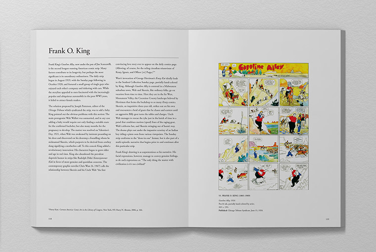 Sordoni Collection Book - Frank O. King