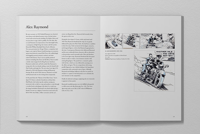 Sordoni Collection Book - Alex Raymond