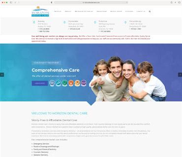 Horizon Dental Website
