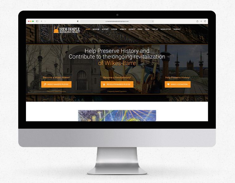 Irem Temple Restoration Project - Desktop