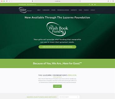 The Luzerne Foundation Website