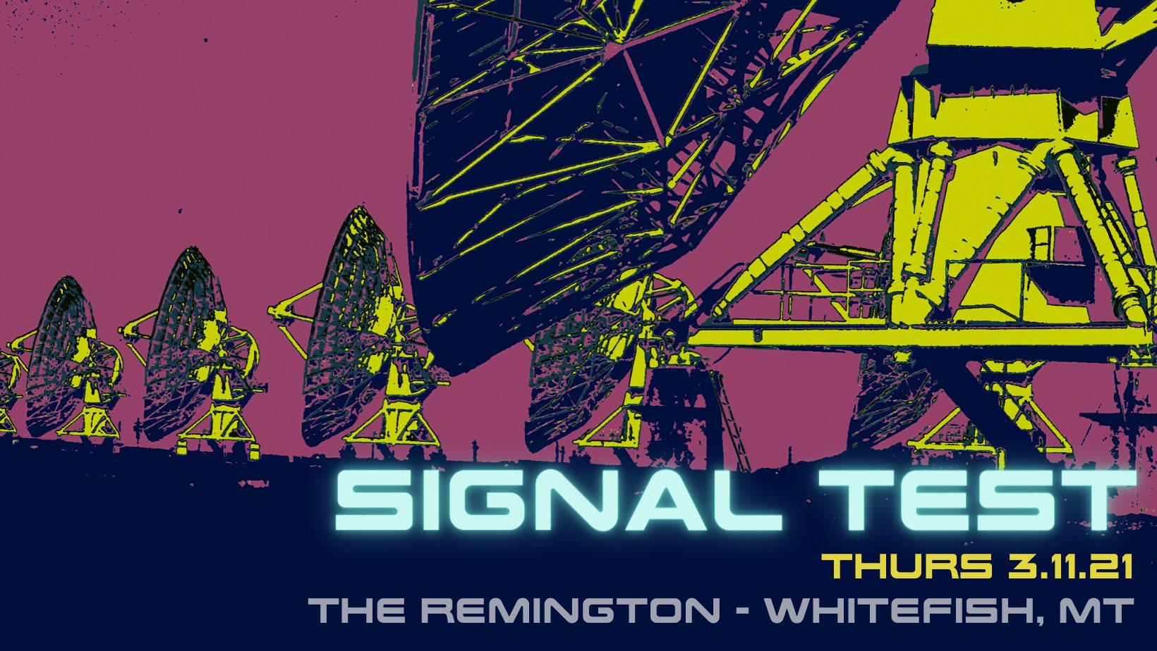 Signal Test - A Night of Underground Electronic Beats & Bass