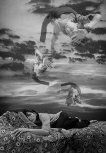 Surreal Portrait - Falling Dream