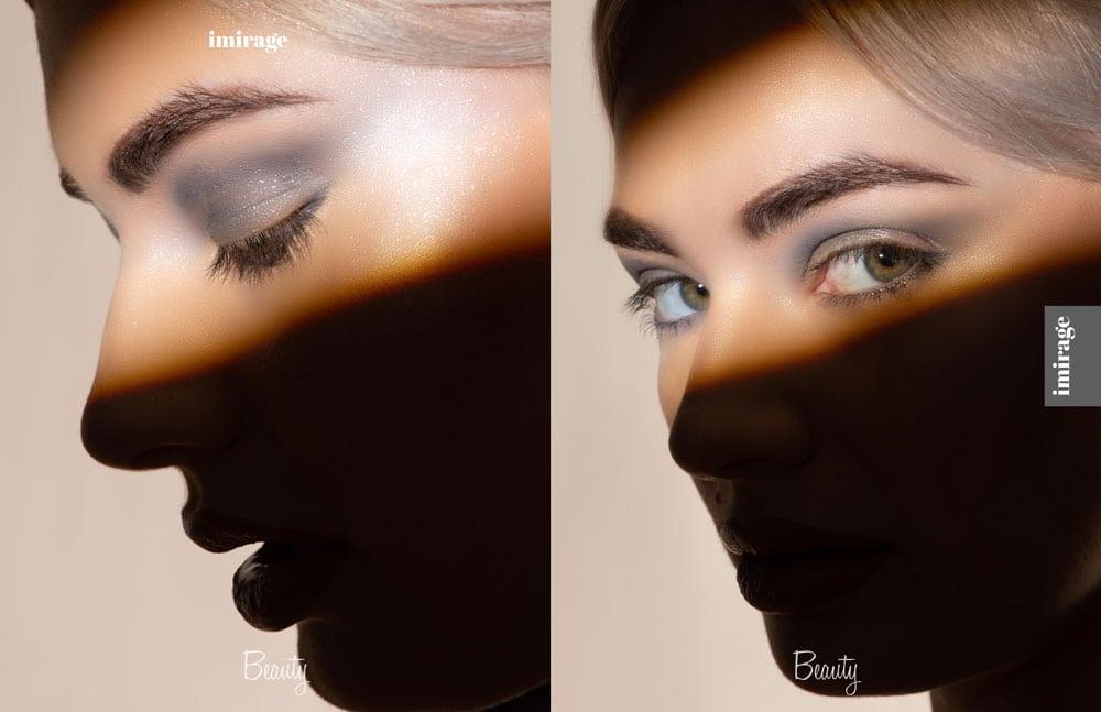 Hidden Structure - A Beauty Editorial