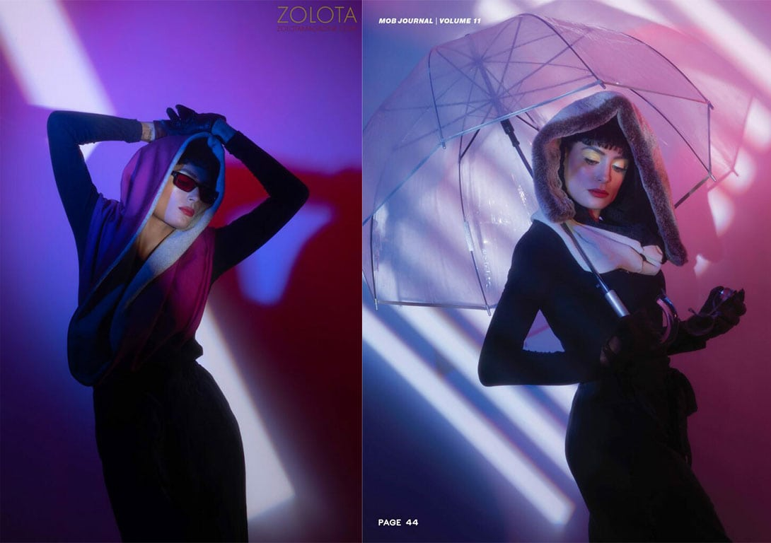 Winter Solstice Fashion Editorial