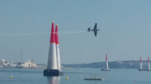 Red Bull Air Races, Cannes, France. April 2018