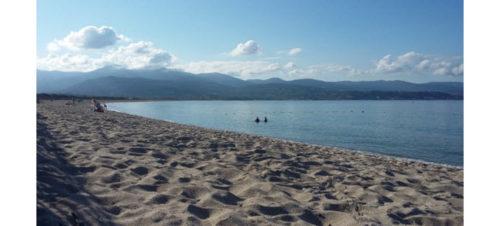 Plage du Ricanto, Corsica
