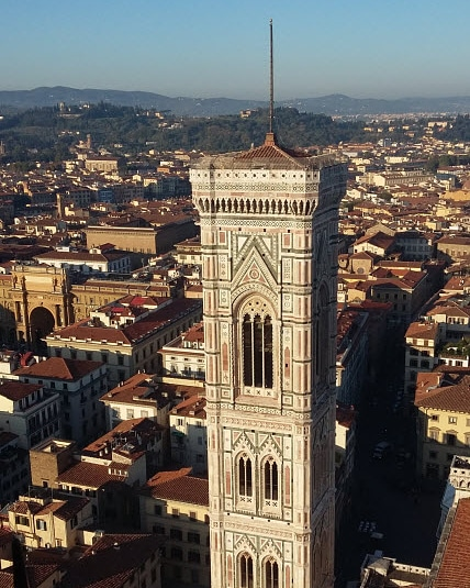 Giotto's Bell Tower, Florence, Italy