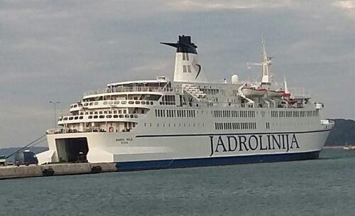 Ancona Split ferry