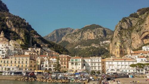 Amalfi town, southern Italian coast