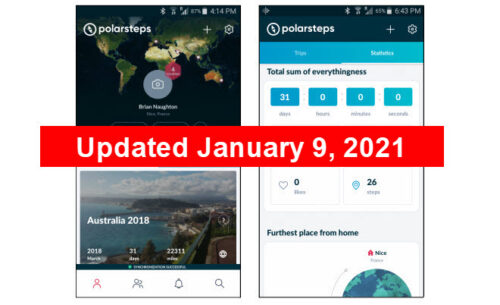Polarsteps Travel App Review