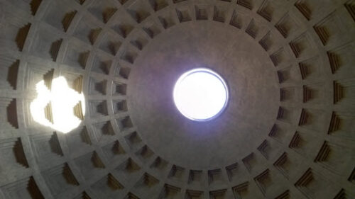 Pantheon ceiling, Rome