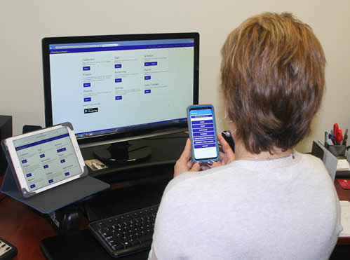 The MaidEasy Cleaning Business Software's Online Edition and mobile app