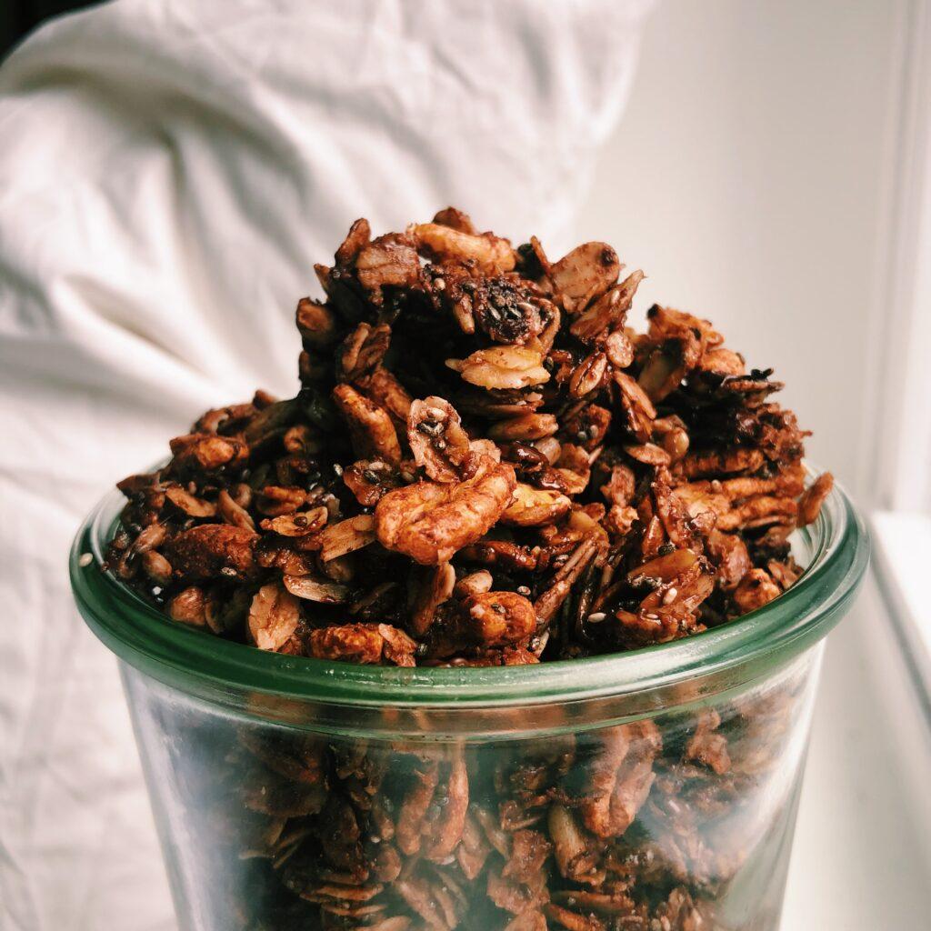 Gluten-Free Chocolate Sea Salt Granola