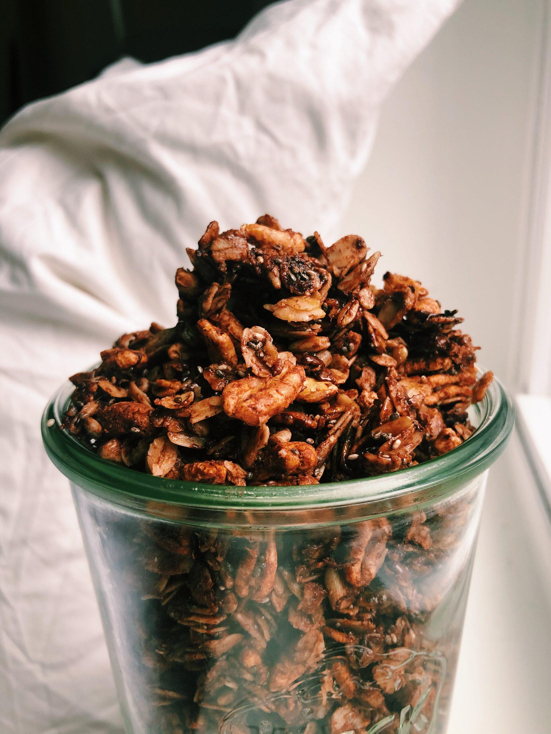 Chocolate Sea Salt Granola