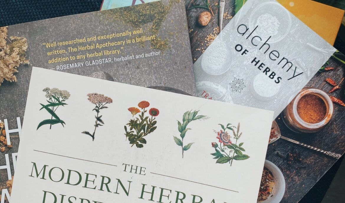 8 Books On Herbal Medicine To Get You Started On Your Healing Journey