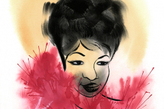 Shannon Jeffries Art_Aretha_Franklin